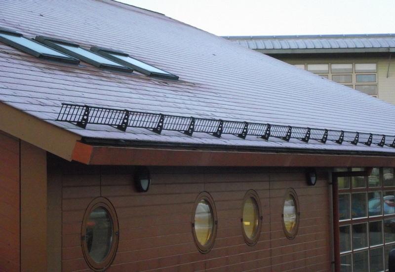 Решетчатый снегозадержатель
