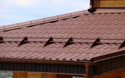 Снегозадержатель трубчатый на крыше